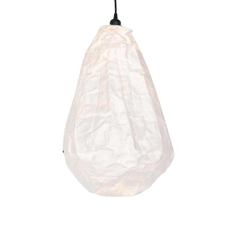 Lampa wisząca skandynawska biała - Pepa Cono