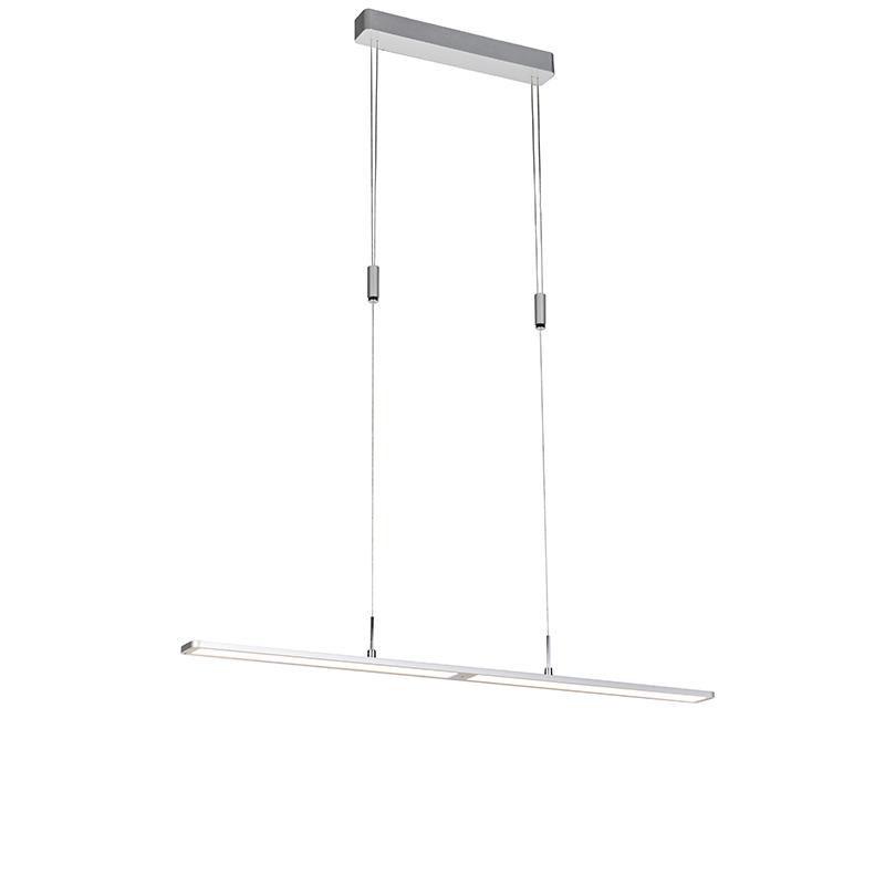 Moderne hanglamp aluminium dim to warm met touchdimmer - Alta