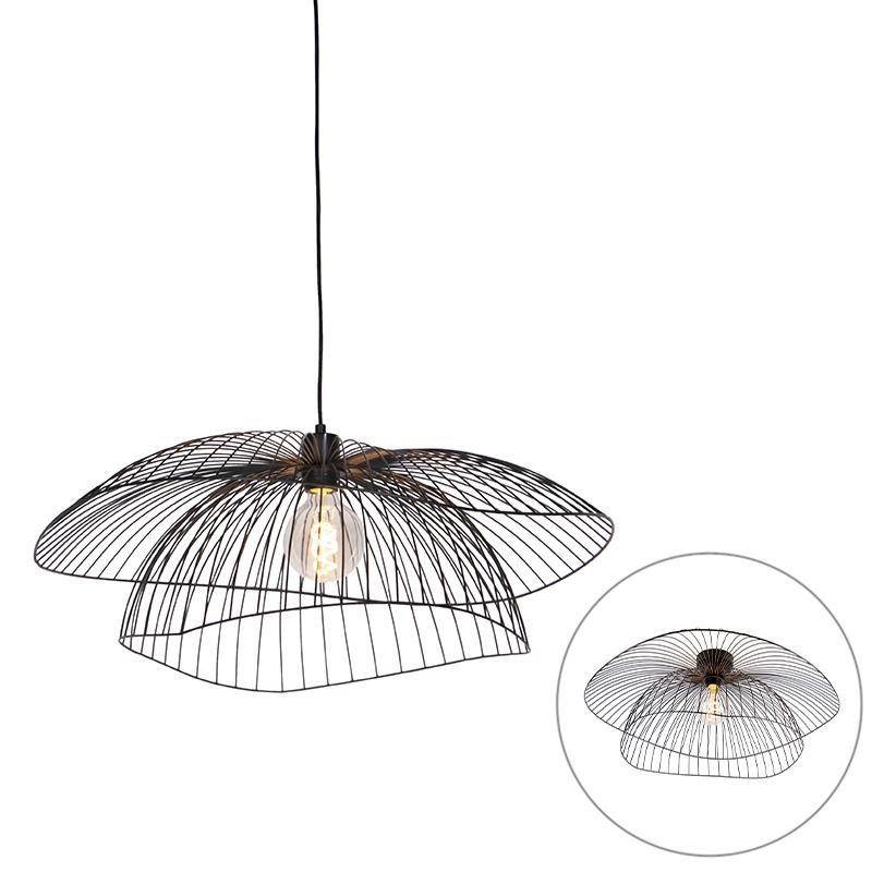 Design hanglamp zwart 66 cm - Pua