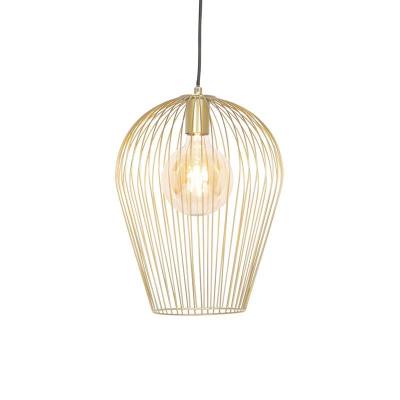 Design hanglamp goud - Wire Ario