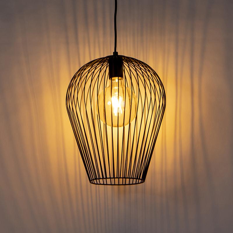 Design hanglamp zwart - Wire Ario