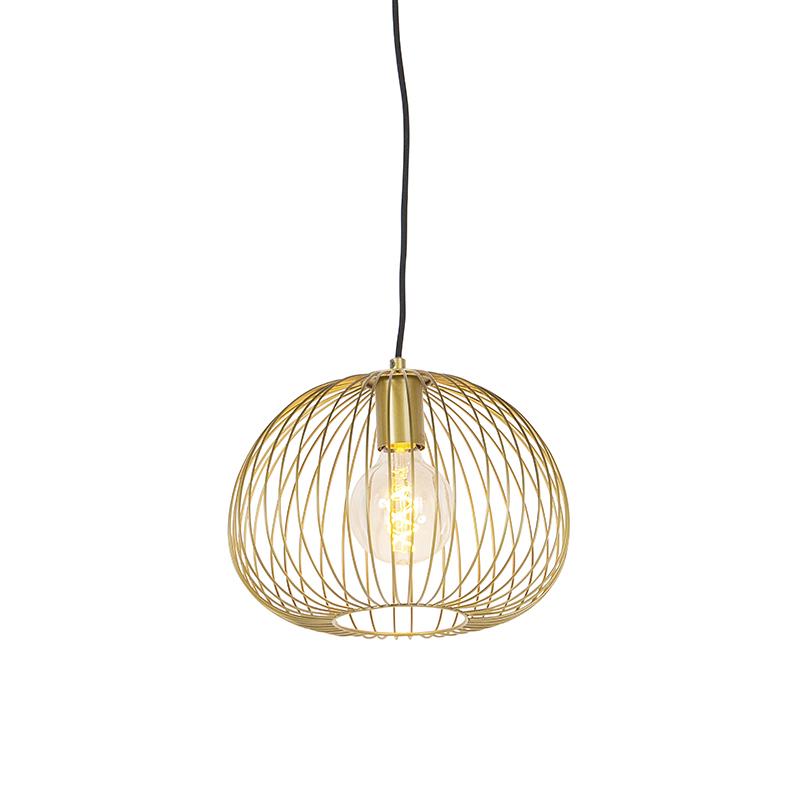 Design Hanglamp Goud - Wire Dough