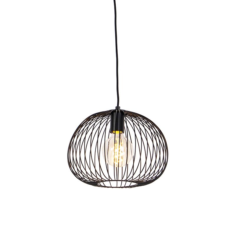 Design hanglamp zwart - Wire Dough