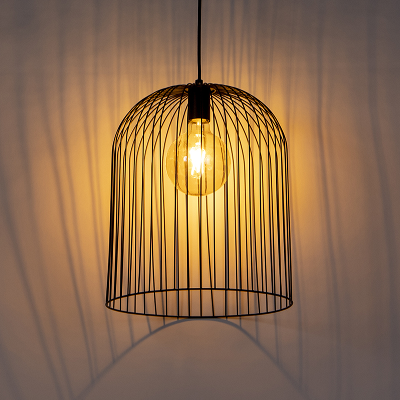 Design hanglamp zwart - Wire Knock