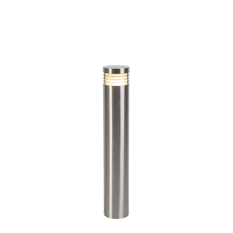 Moderne staande buitenlamp staal 60 cm IP44 - Doc