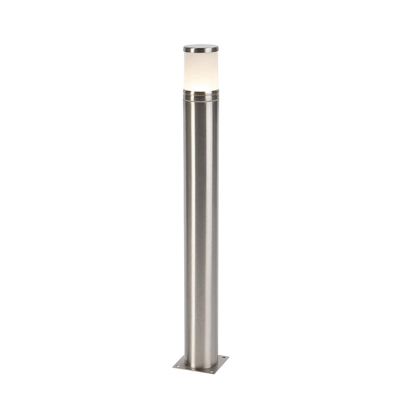 Moderne staande buitenlamp staal 70 cm - Dopey