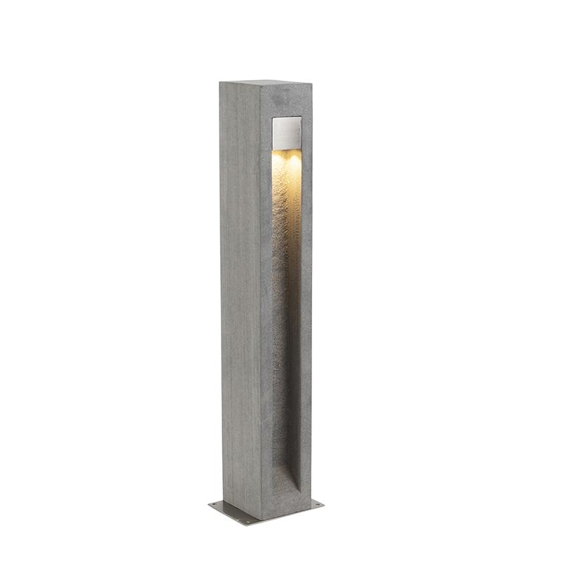 Moderne staande buitenlamp bazalt 70 cm - Sneezy