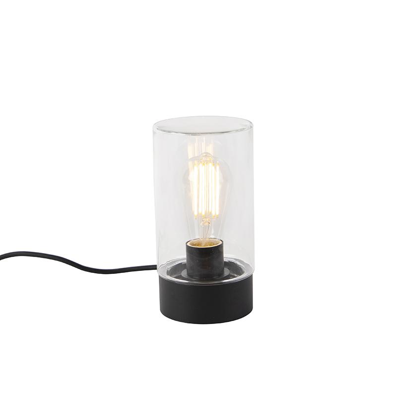 Moderne buitentafellamp zwart IP44 - Jarra