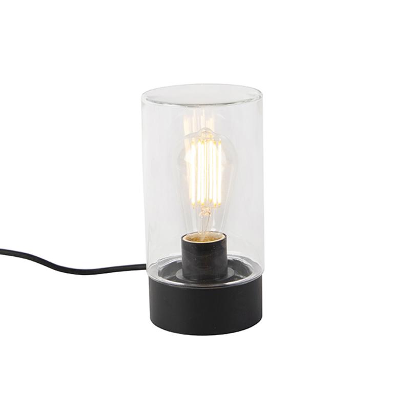 Nowoczesna zewnętrzna lampa stołowa czarna IP44 - Jarra
