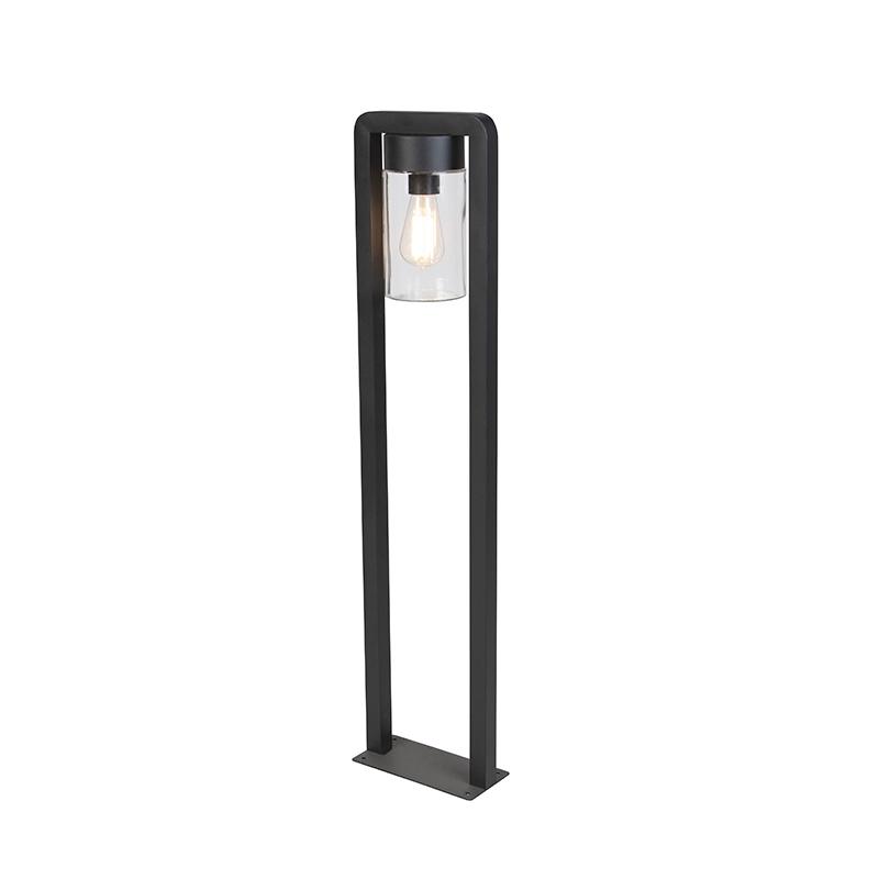 Moderne staande buitenlamp zwart IP44 - Jarra Balanco