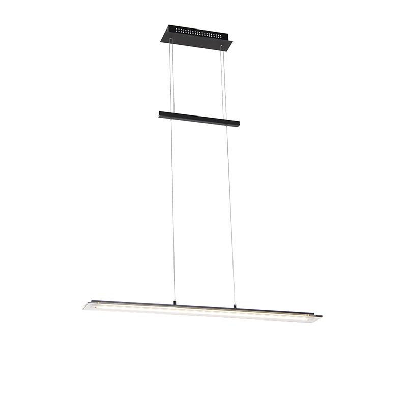 Design hanglamp zwart 88 cm incl. LED 3 staps dimbaar - Cavolo