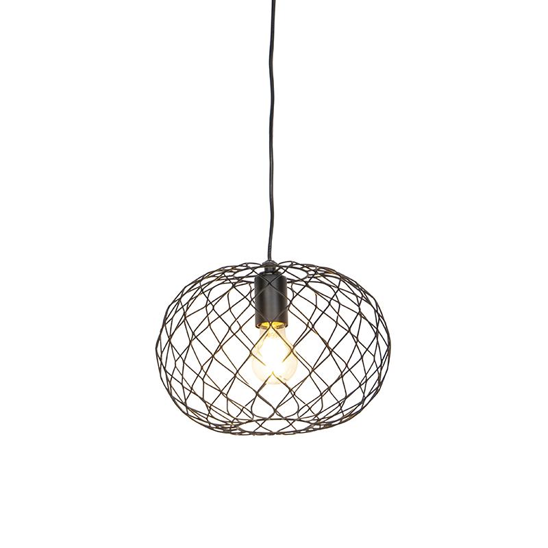 Design hanglamp zwart - Helian