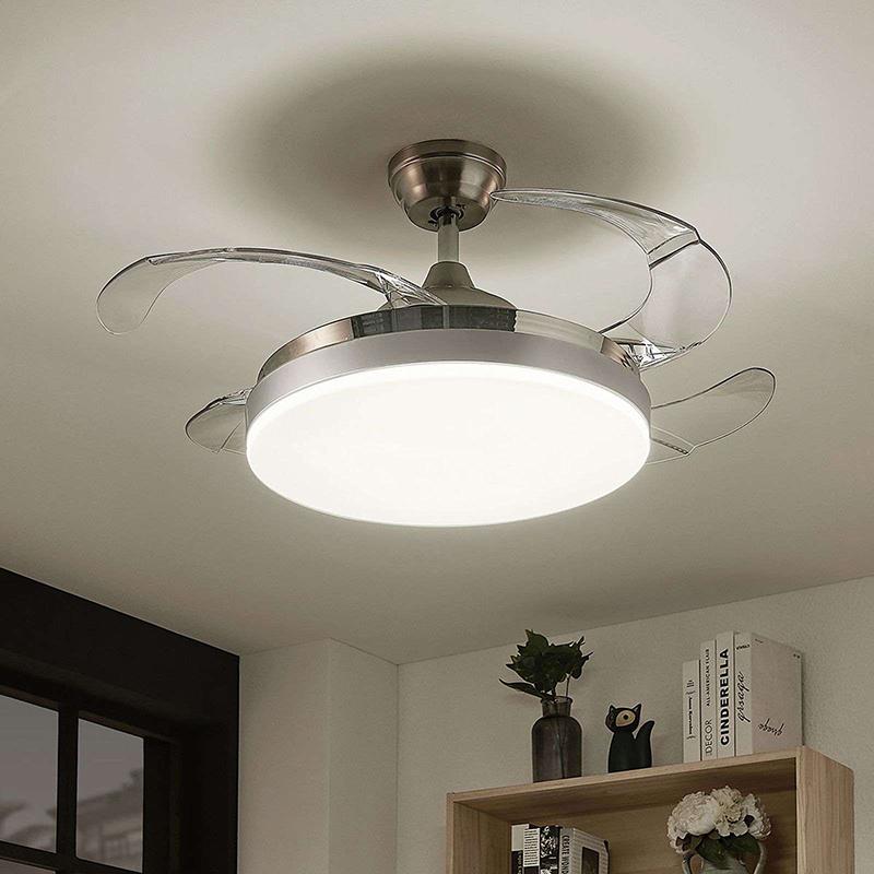 Design plafondventilator incl. LED en afstandbediening - Philious