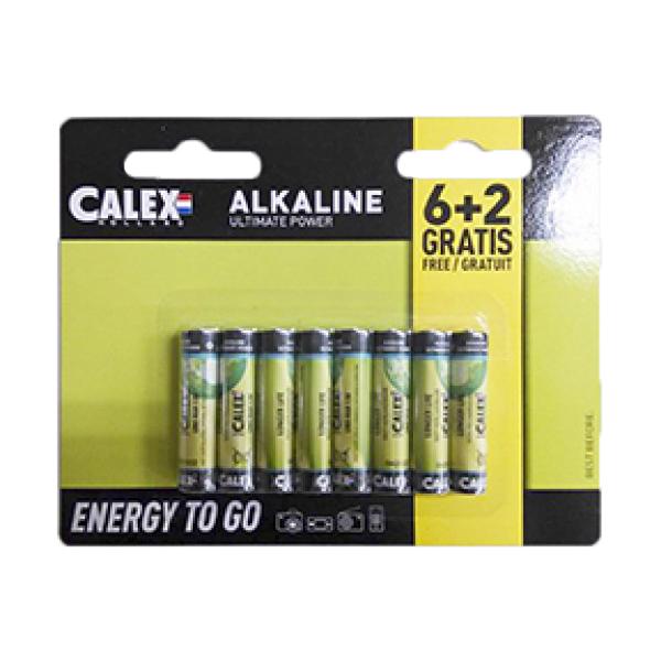 8 sztuk baterii AAA - alkaliczne Penlite