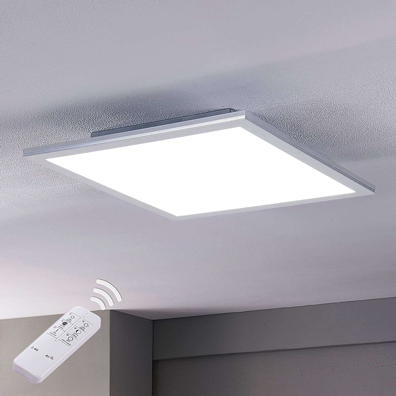 Modern LED-paneel 40 cm incl. LED en dimmer - Liv