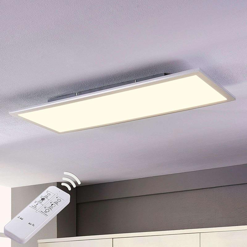 Modern LED-paneel incl. LED dimbaar met afstandbediening 80 cm - Liv