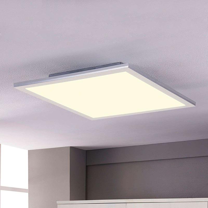 Strakke plafondlamp 62 cm incl. LED - Liv