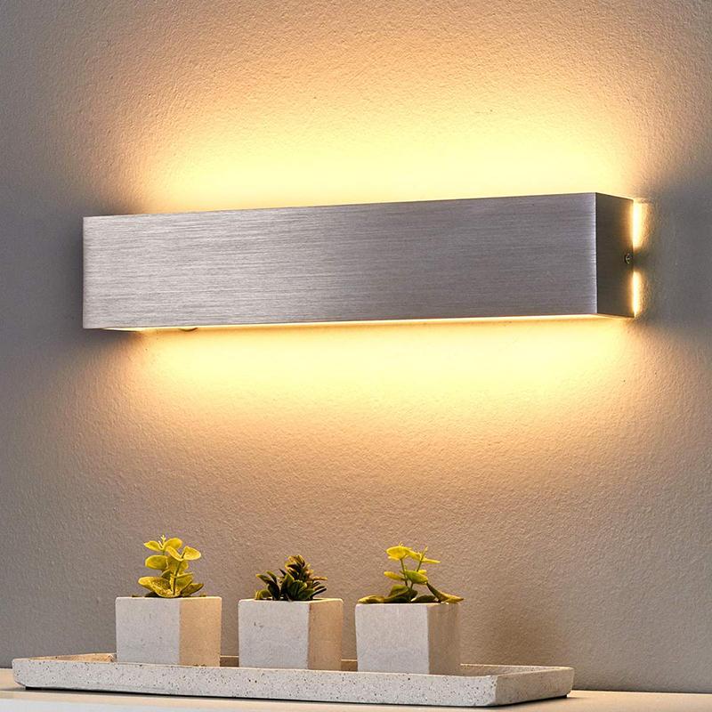Moderne wandlamp staal incl. LED - Ranik