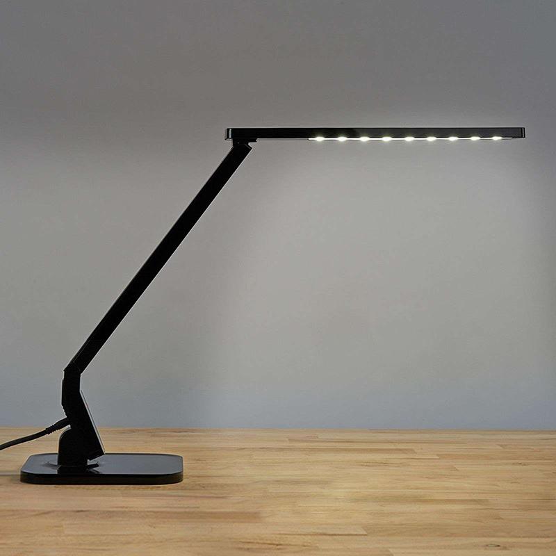 Design bureaulamp zwart incl. LED met touchdimmer - Eleni