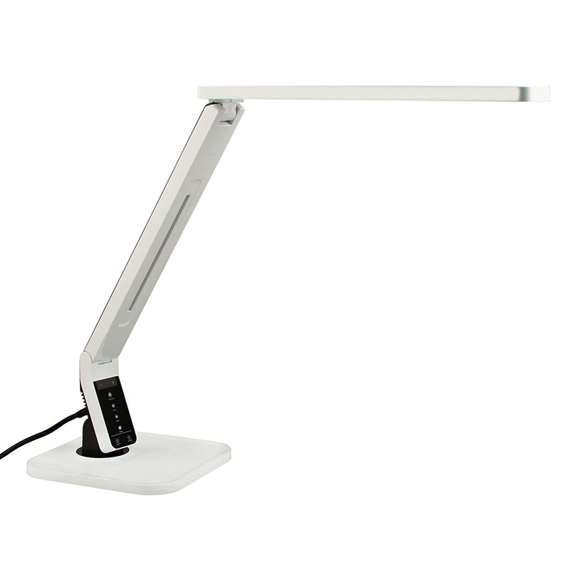 Design bureaulamp wit incl. LED met touchdimmer - Eleni