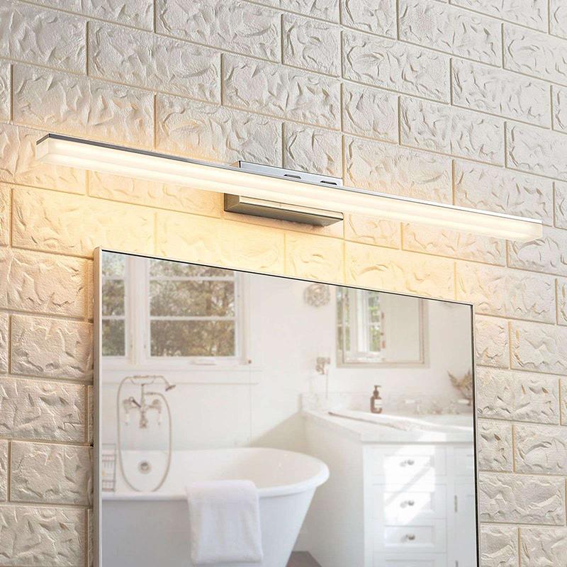 Moderne badkamerlamp chroom 75 cm IP44 incl. LED - Julie