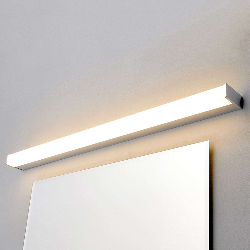 Moderne badkamerlamp chroom 88,8 cm incl. LED IP44 - Philippa