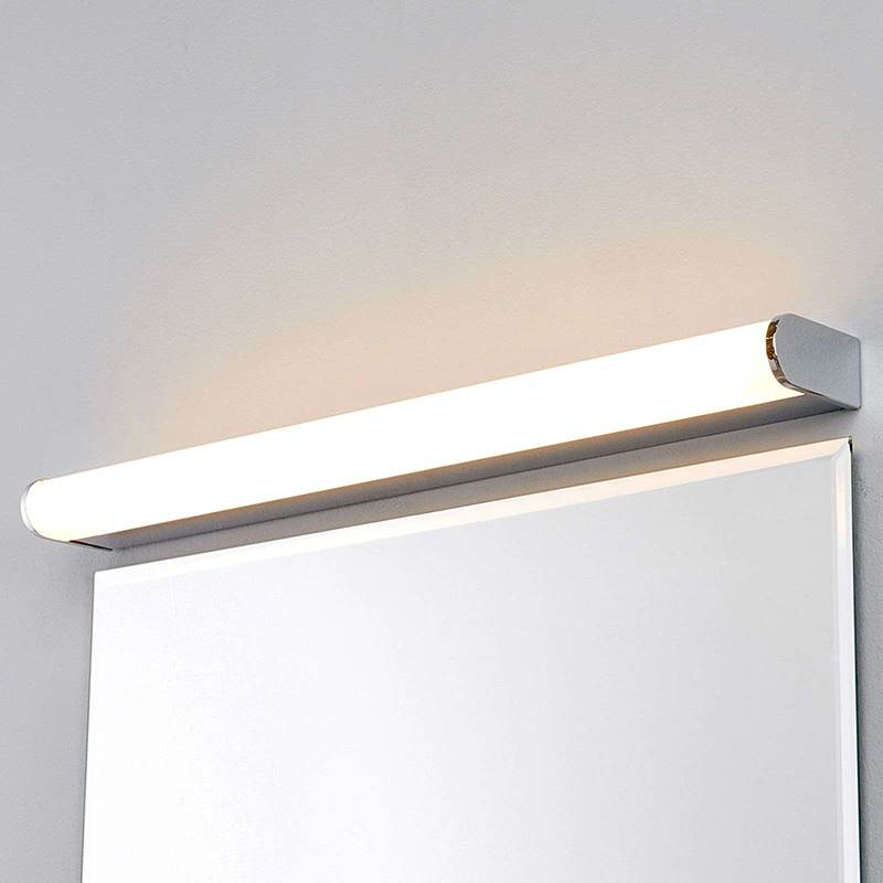 Badkamerlamp chroom 58 cm incl. LED IP44 - Philippa
