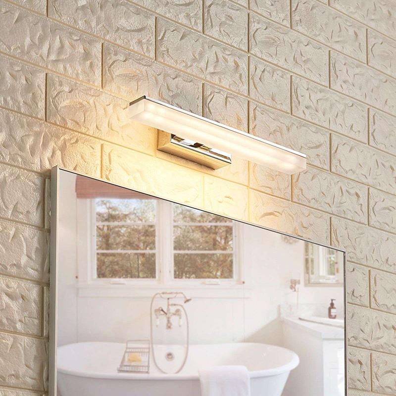 Moderne badkamerlamp chroom 32 cm incl. LED IP44 - Julie