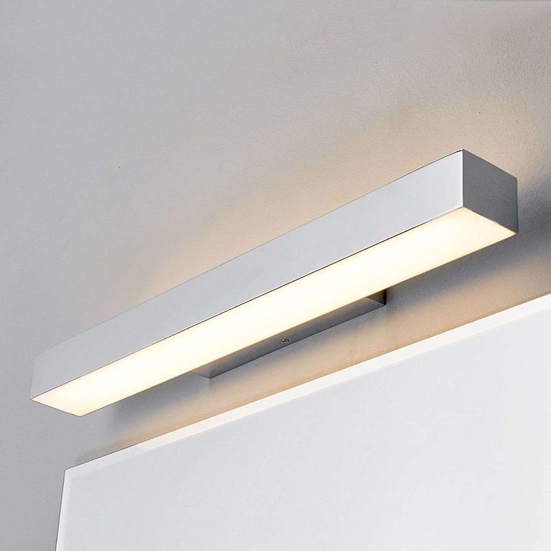 Moderne badkamerlamp chroom 60 cm incl. LED IP44 - Kiana