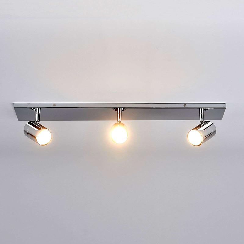 Moderne 3-lichts badkamerlamp chroom IP44 - Dejan