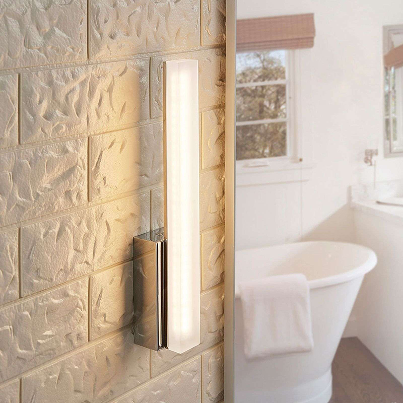 Moderne badkamerlamp chroom 32 cm incl. LED - Julie