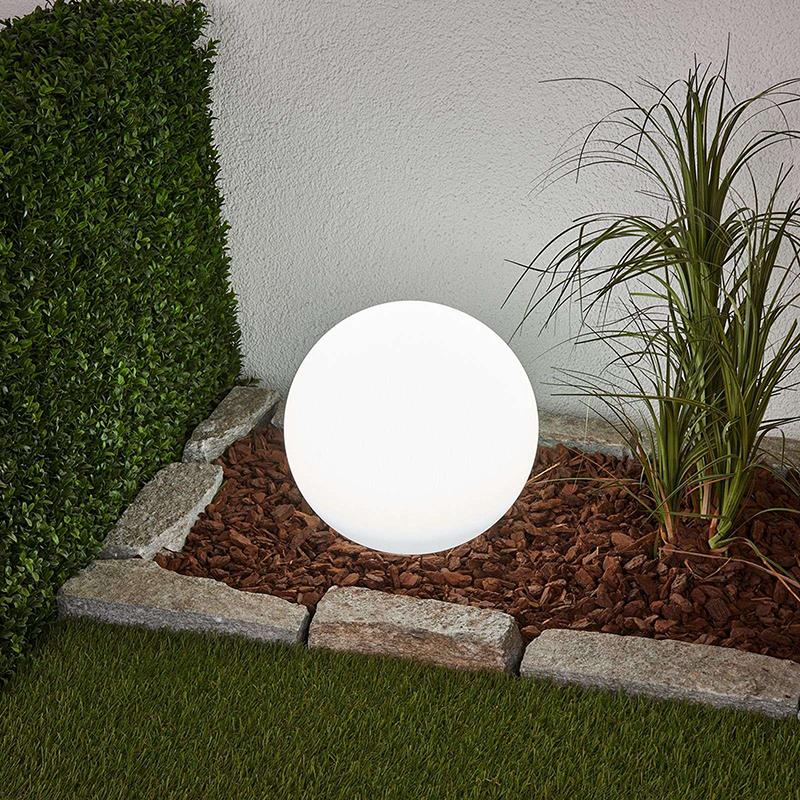 Buitenlamp met grondpin 30 cm incl. LED op solar IP44 - Lago