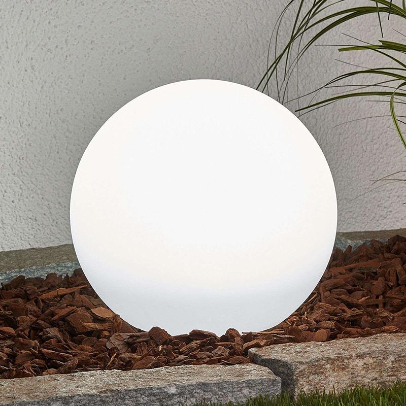 Moderne buitenlamp met grondpin 25 cm incl. LED op solar IP44 - Lago