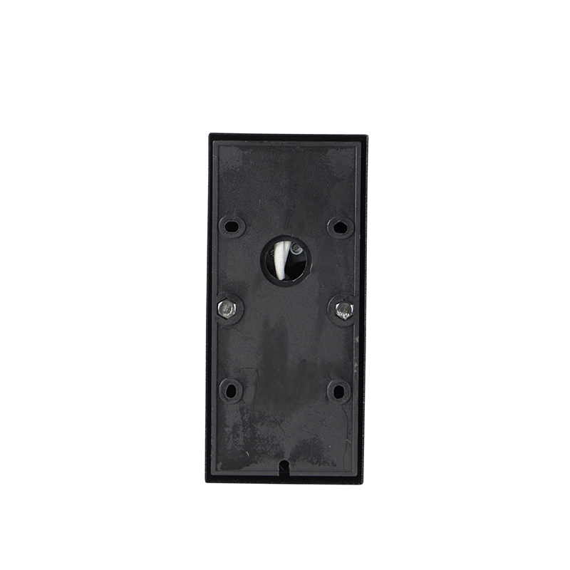 Exterior wall light black with motion sensor IP44 - Solo
