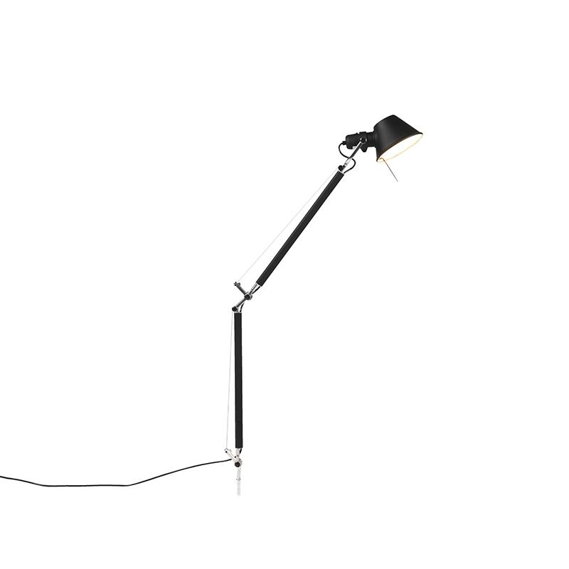 Artemide tafellamp zwart body - Tolomeo Tavolo