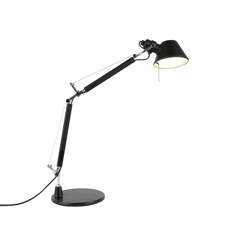 Artemide tafellamp zwart 40 cm - Tolomeo Tavolo Micro