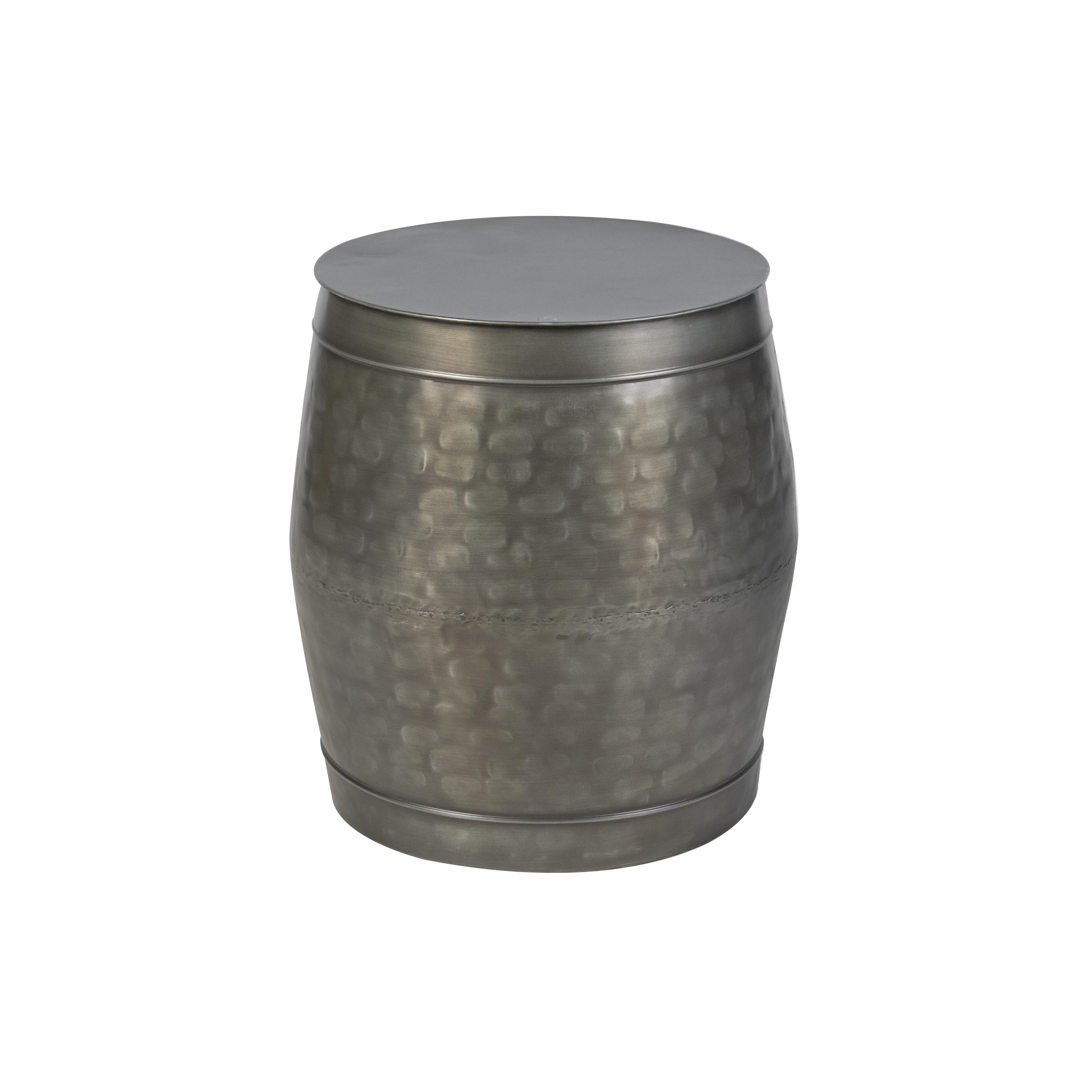 Bilde av Antique zinc side table Tub
